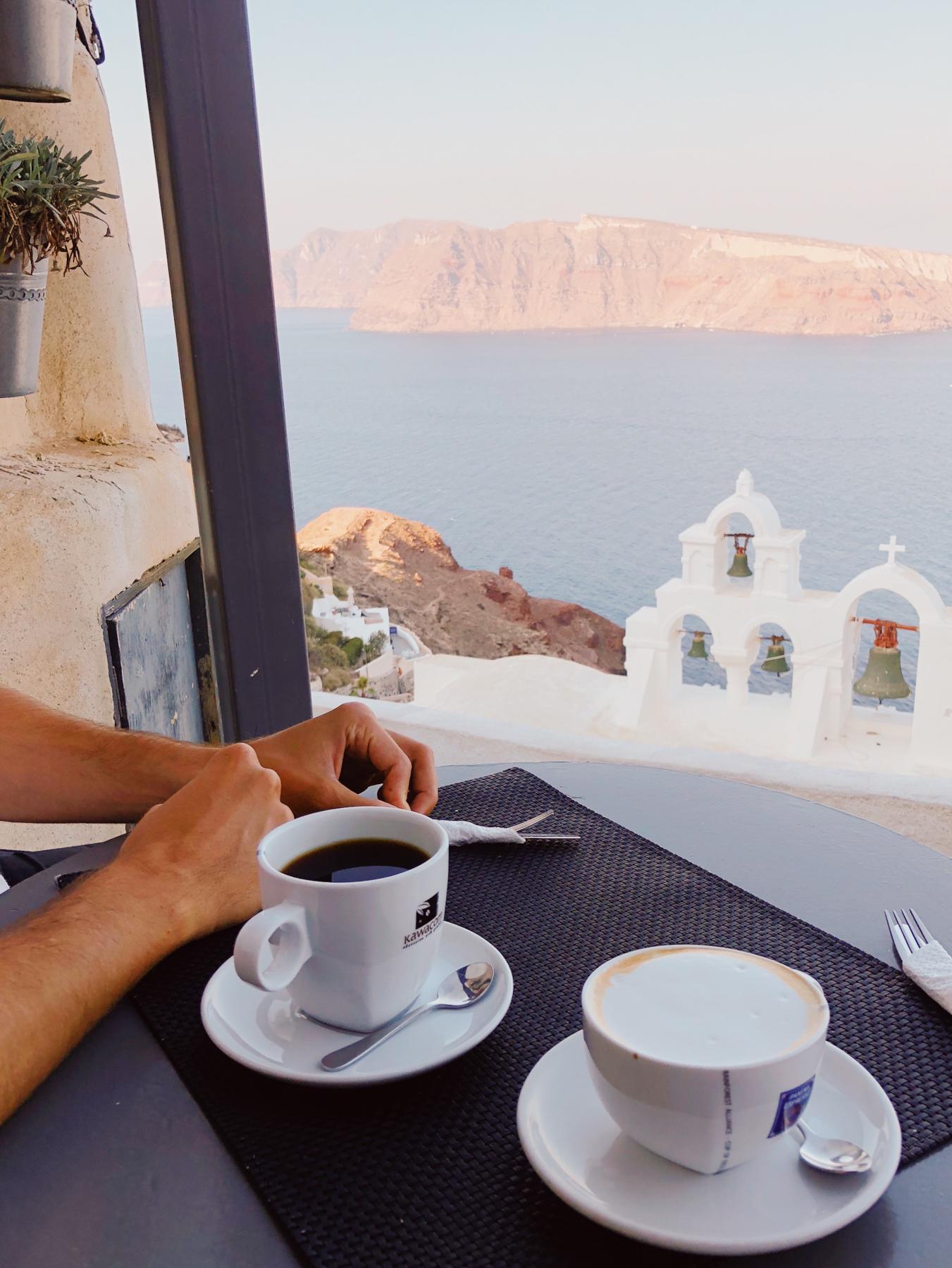 Morning view at Vitrin Cafe