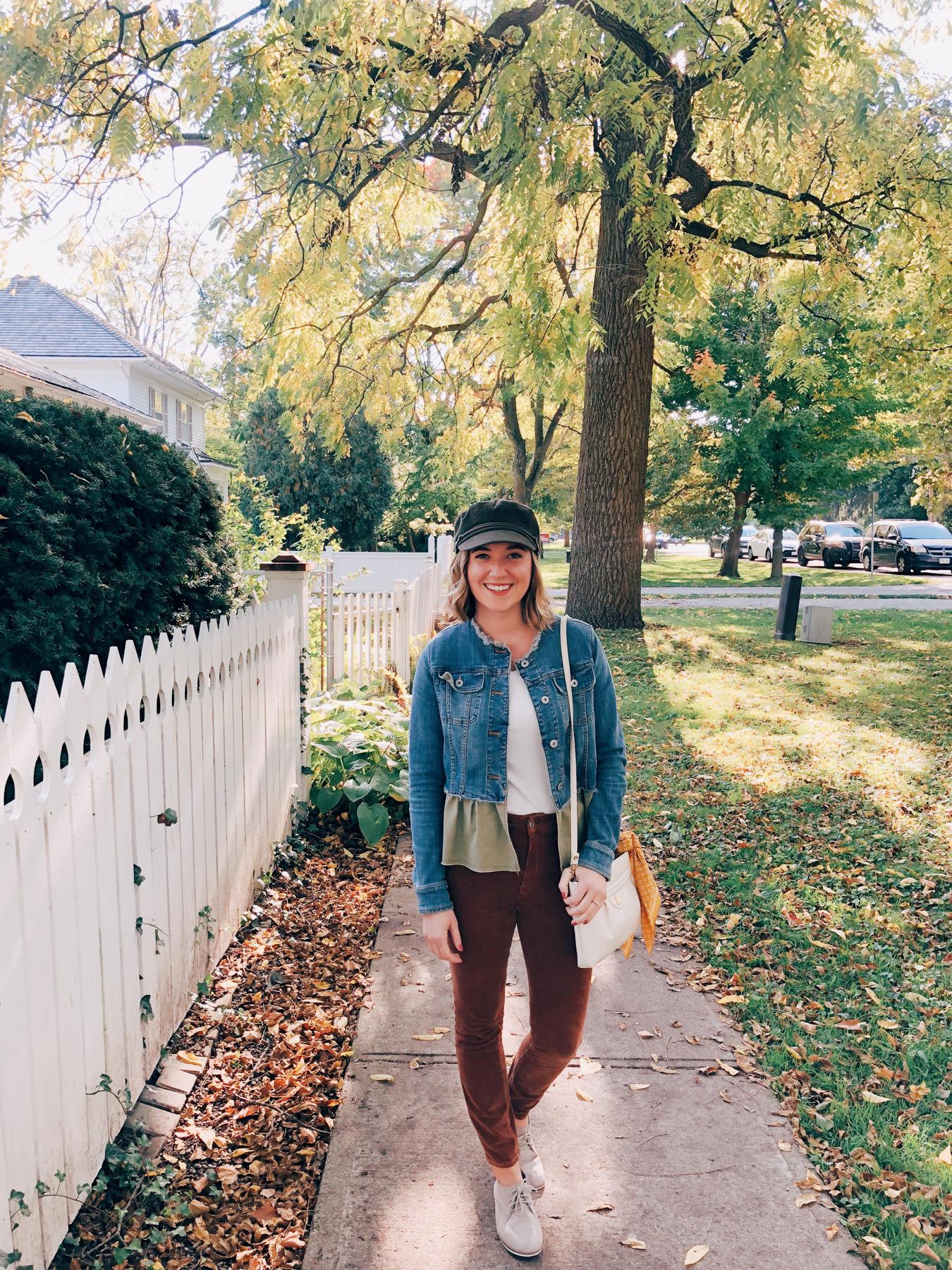 Walking around the NOTL neighborhood