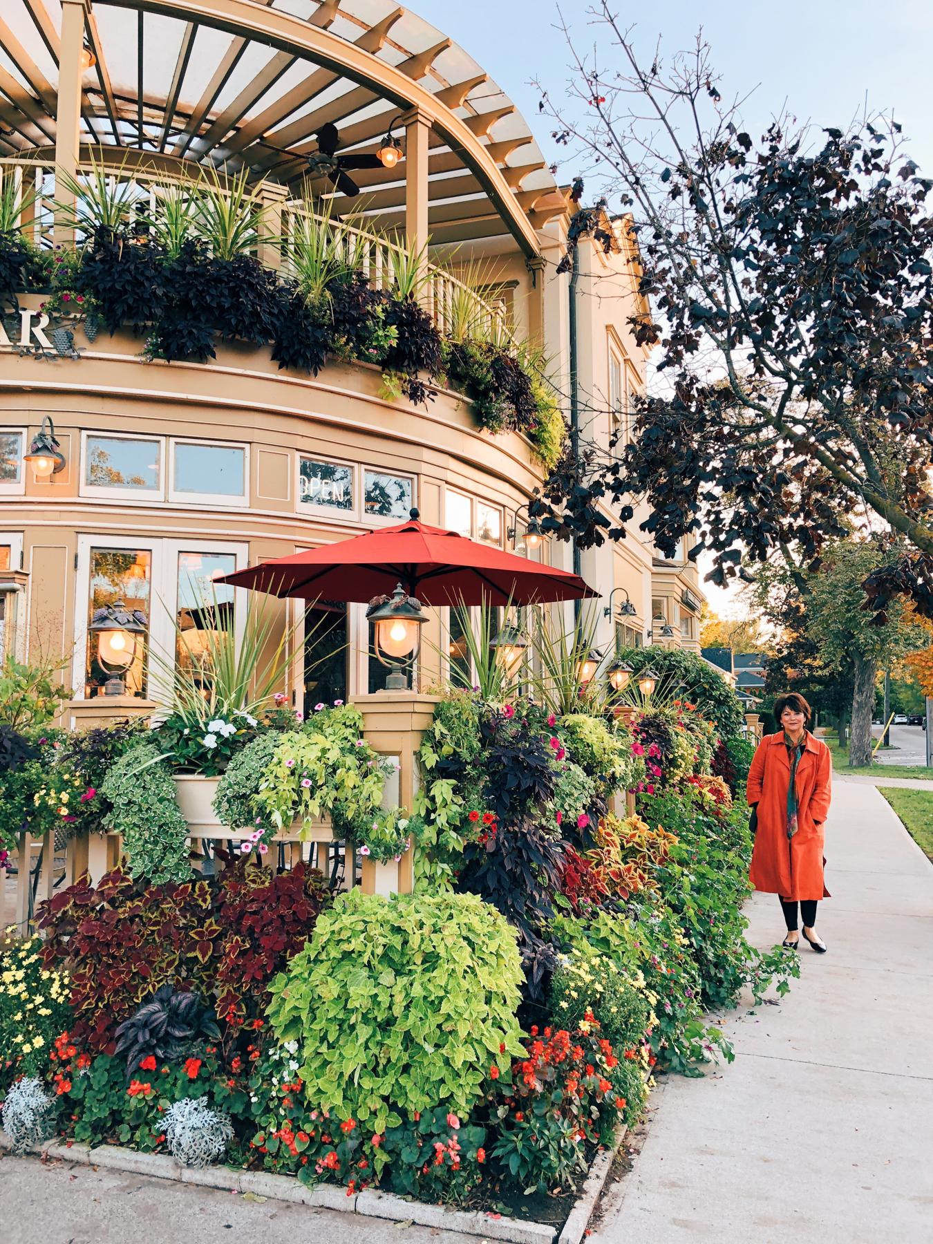 The town of Niagara-On-The-Lake