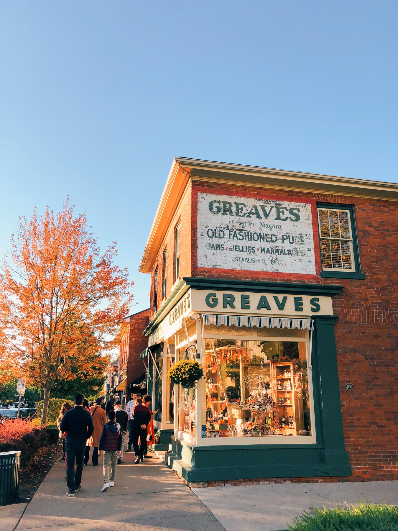 Greaves Jams & Marmalades shop
