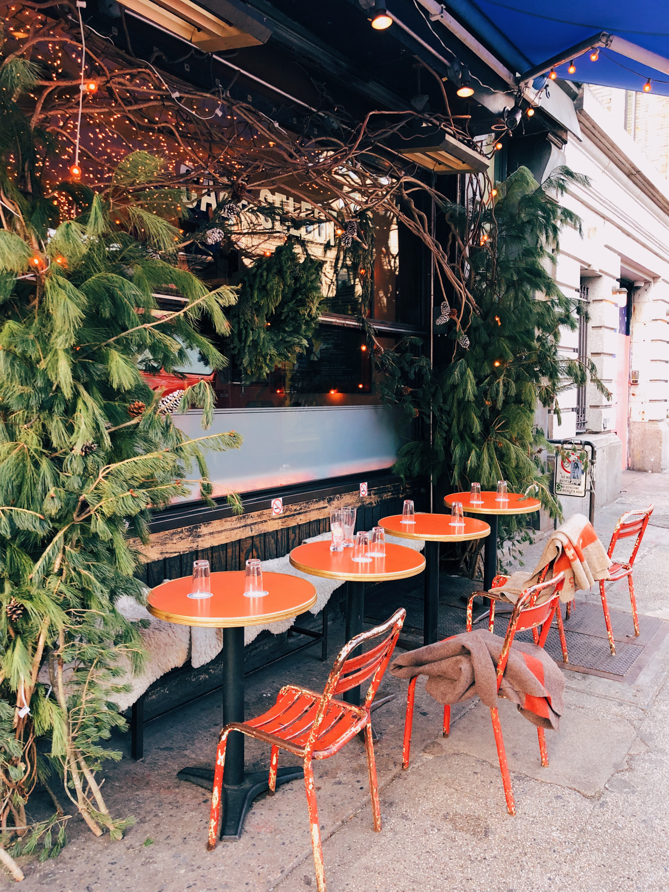 Cafe Select on Lafayette St