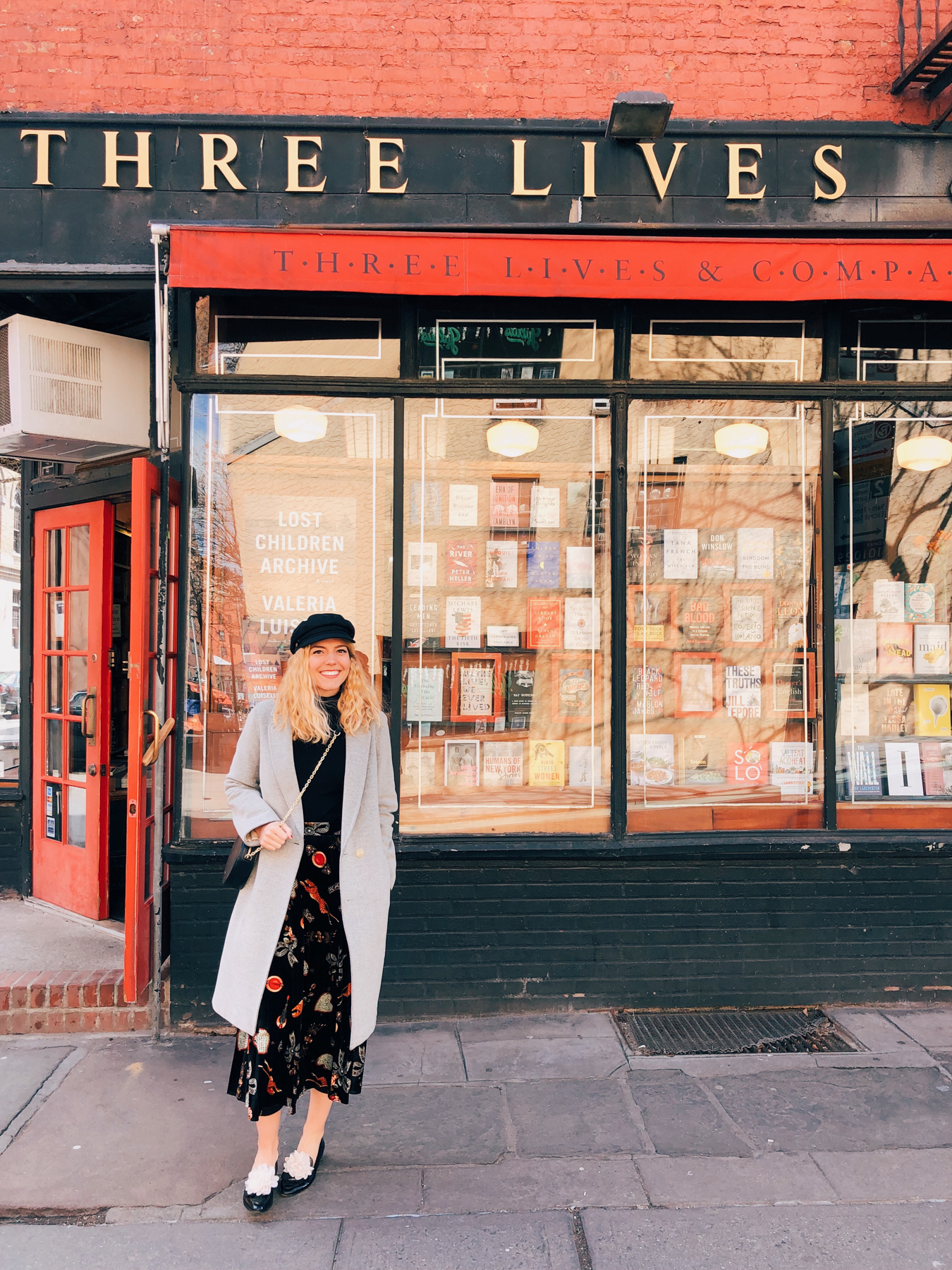 "Visiting ""Three Lives & Company"" bookshop in West Village"