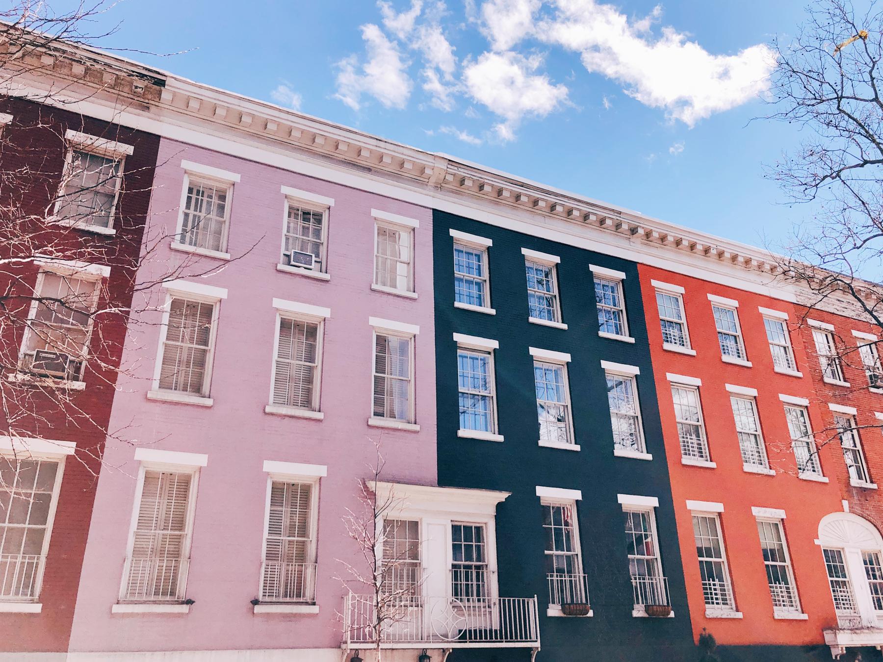 Cute houses on MacDougal St.