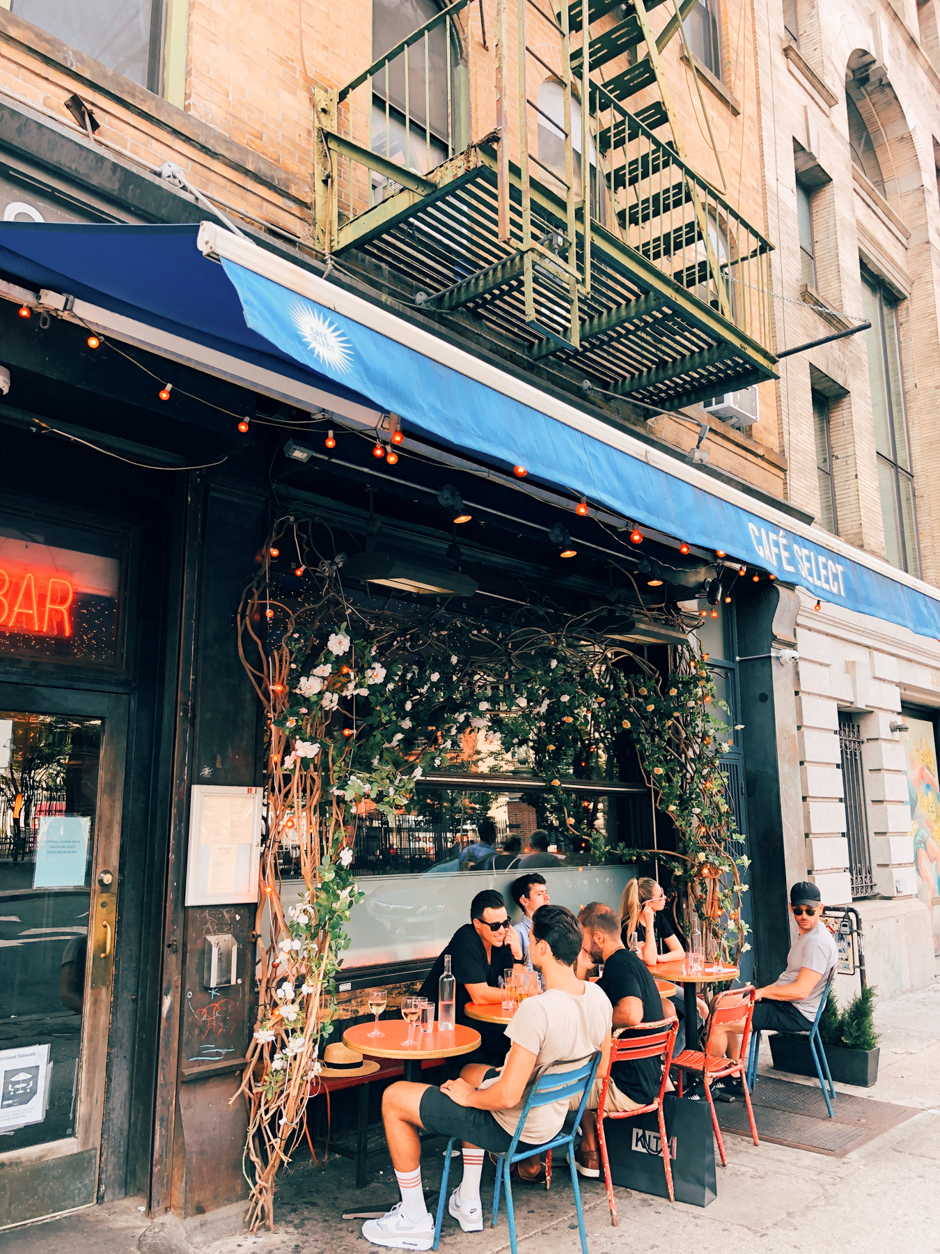 Cafe Select is a perfect for people watching in Soho