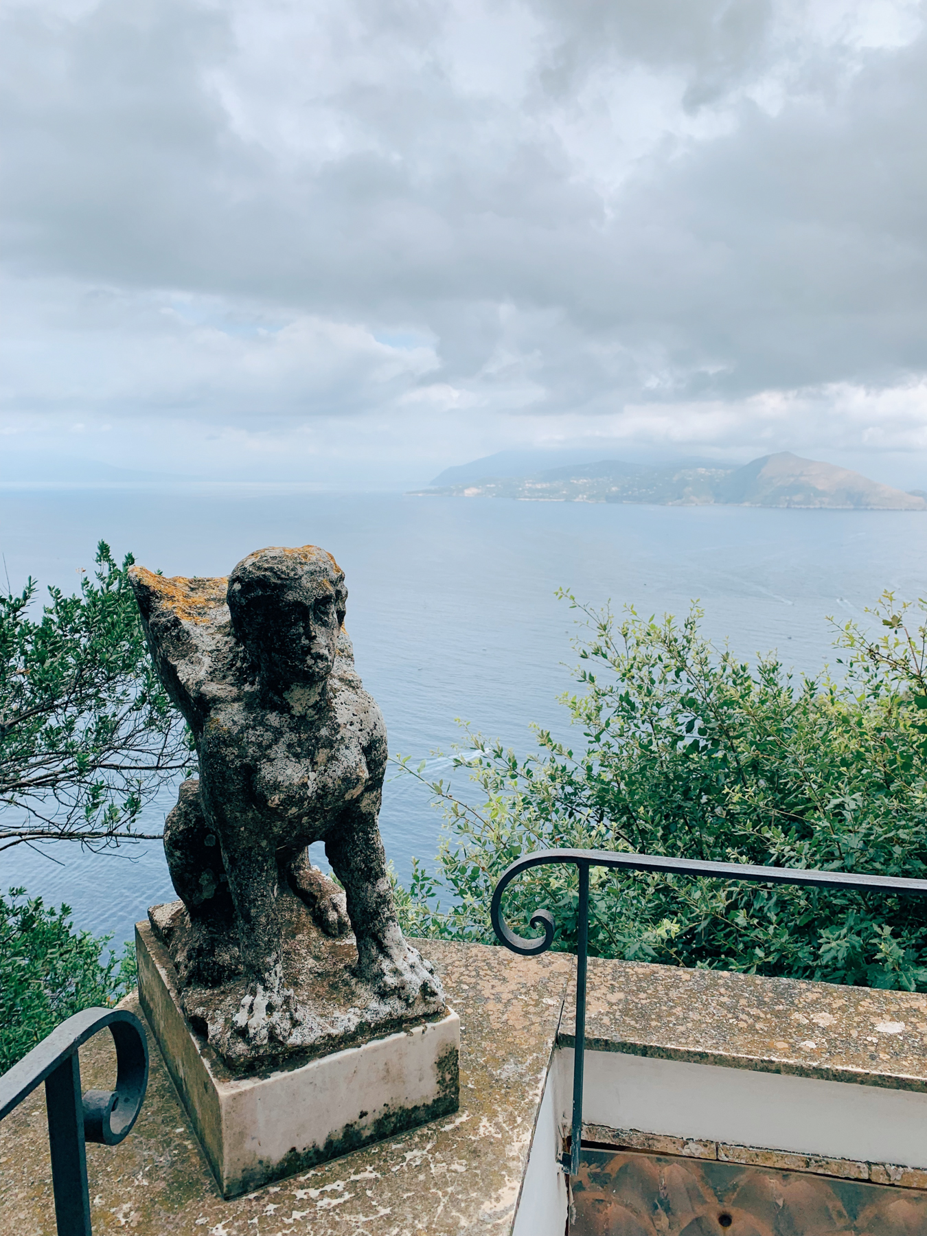 Views of the water from Villa San Michele.