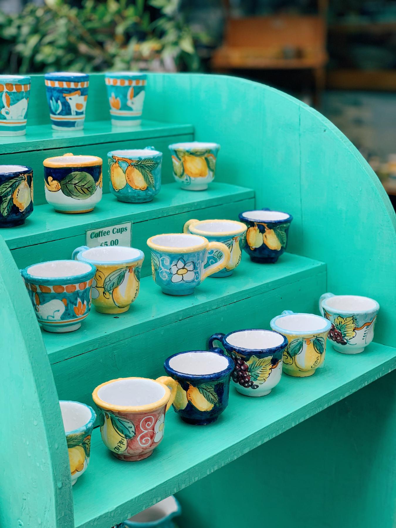 The ceramics in Capri were so pretty!