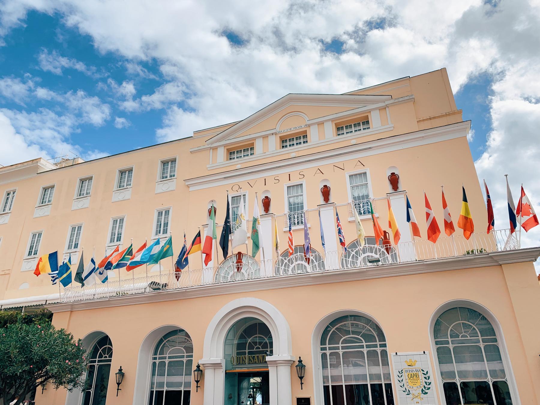 The Grand Hotel Quisisana.