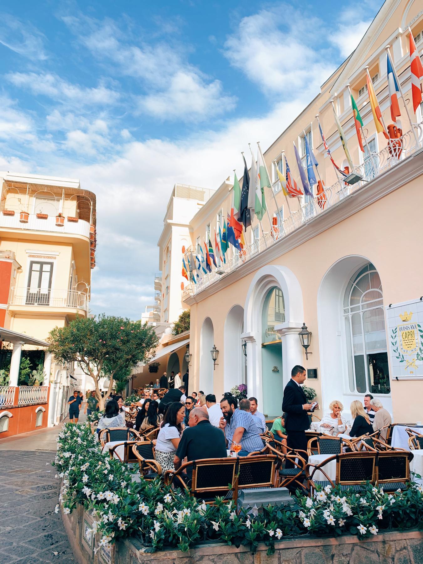 Grand Hotel Quisisana.