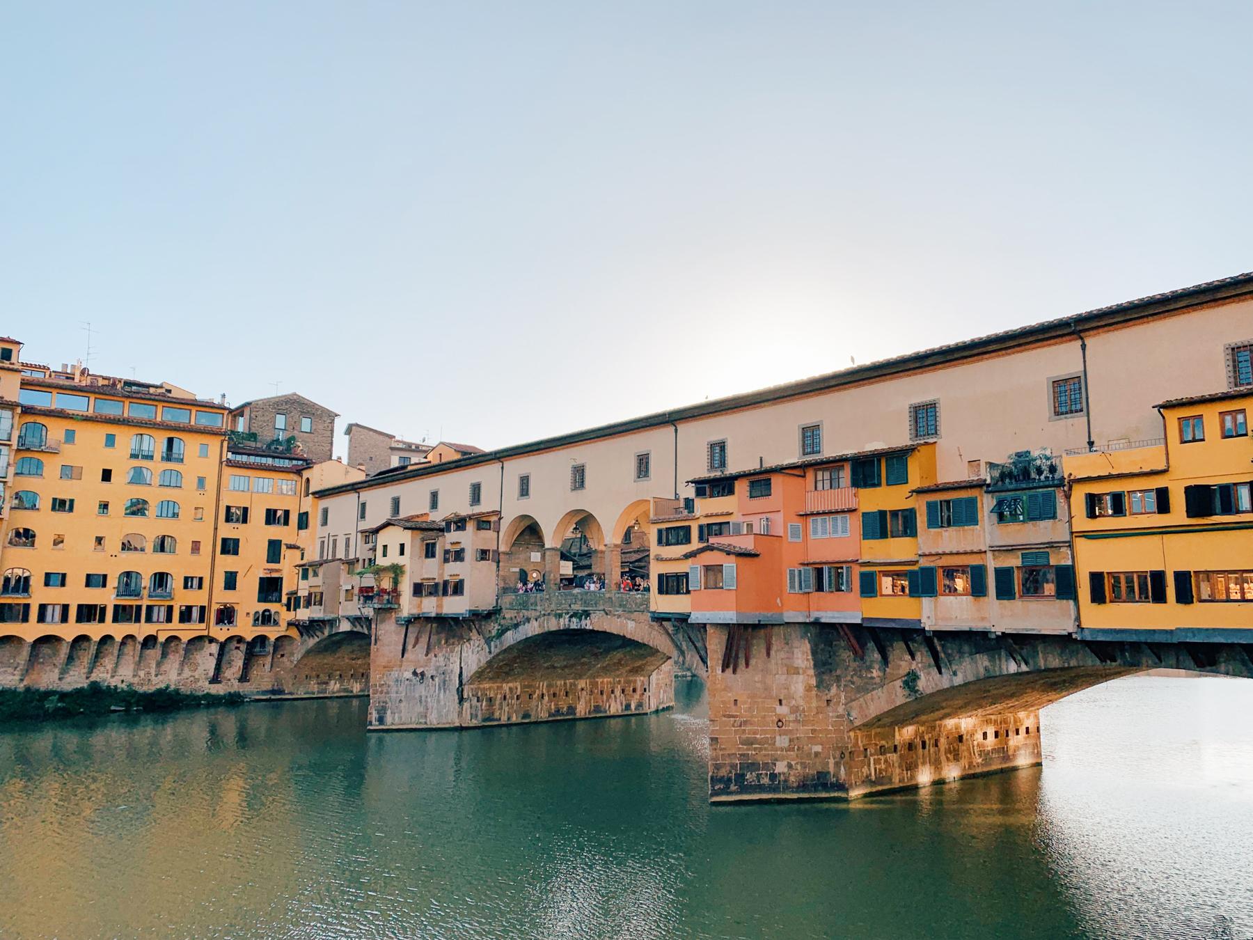 The famous Ponte Vecchio!