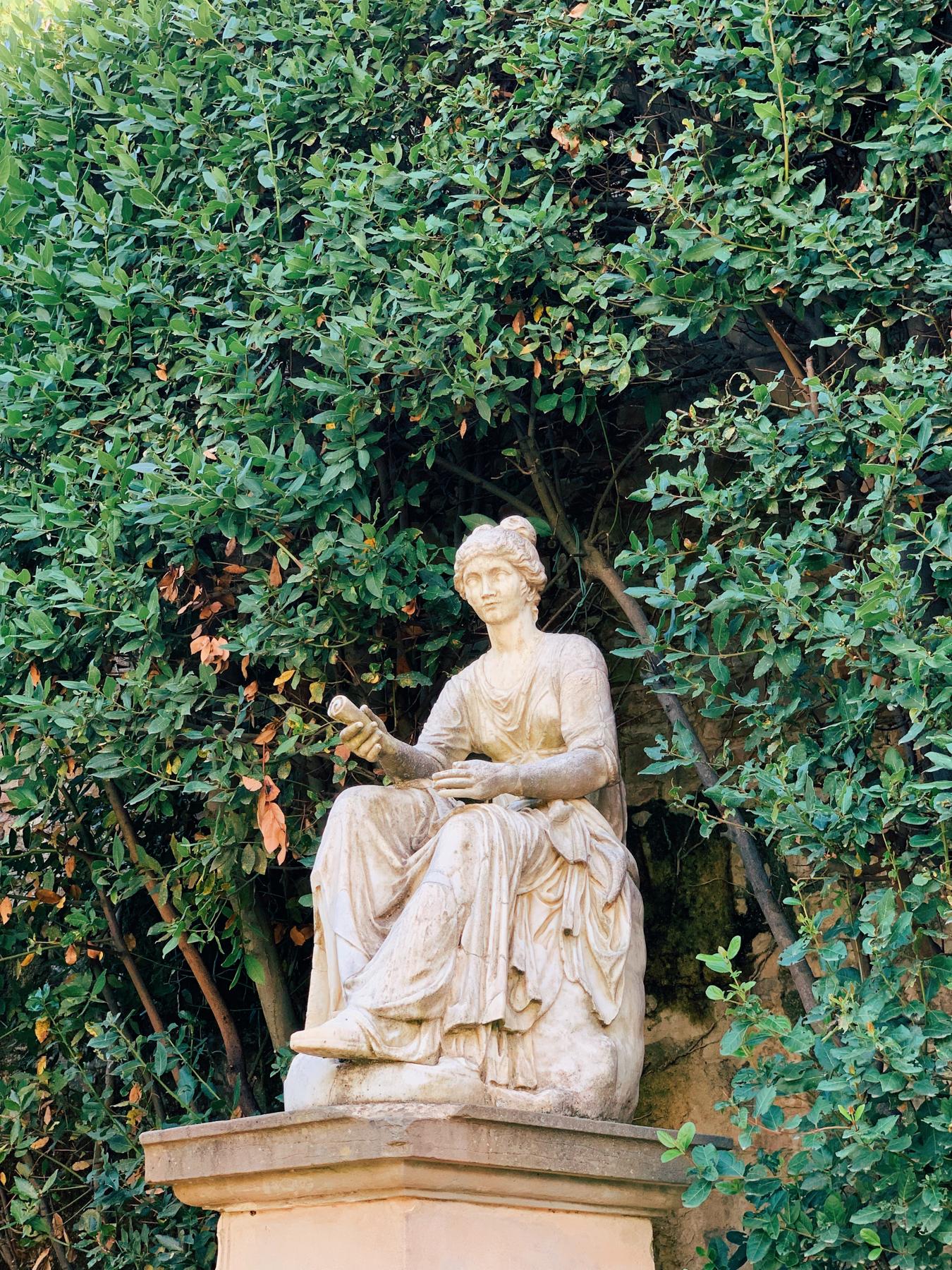 Boboli Garden's statue