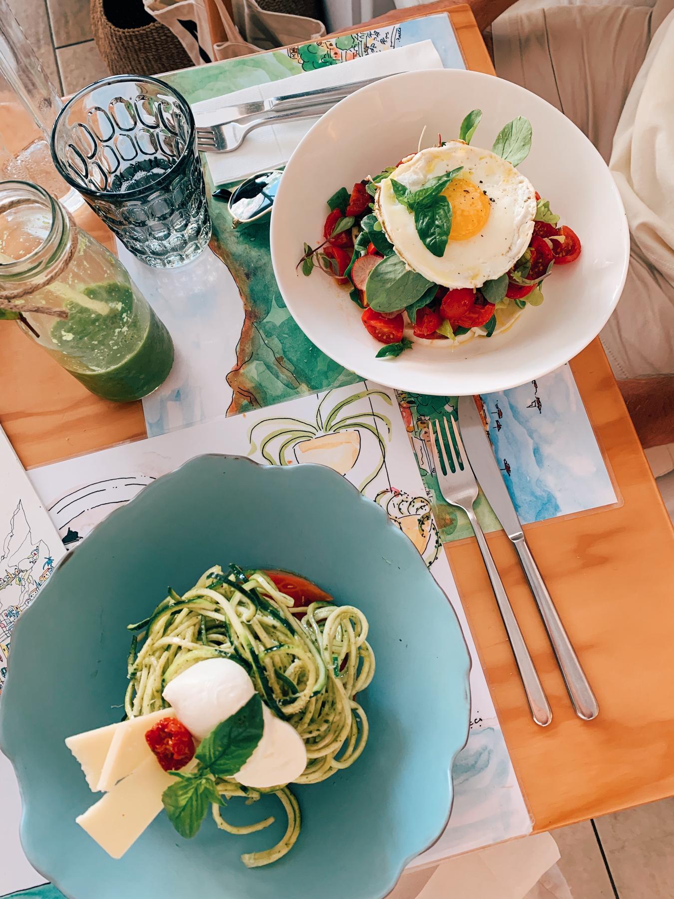 Our brunch at Casa e Bottega