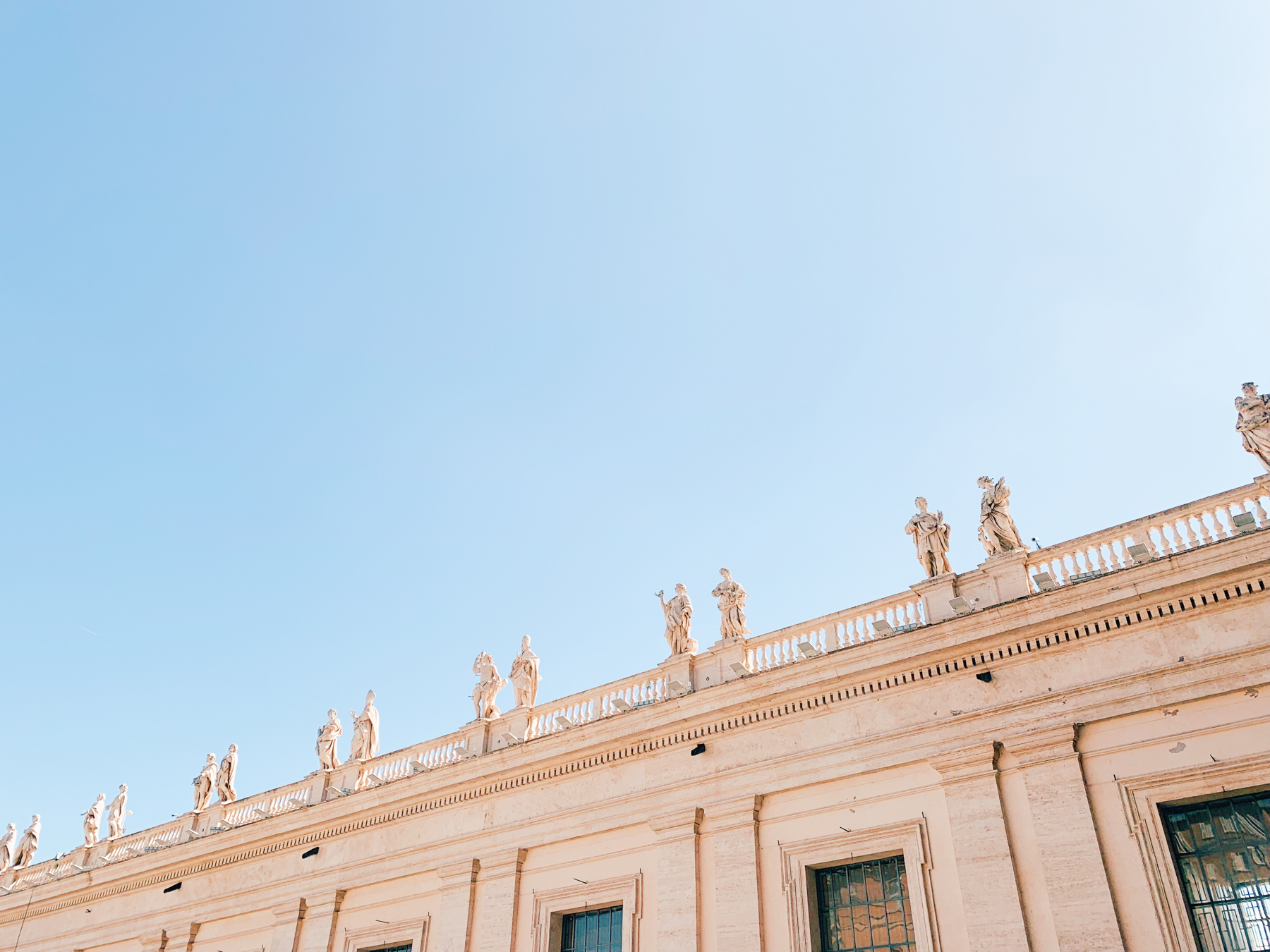 Views from St. Peter's Square.