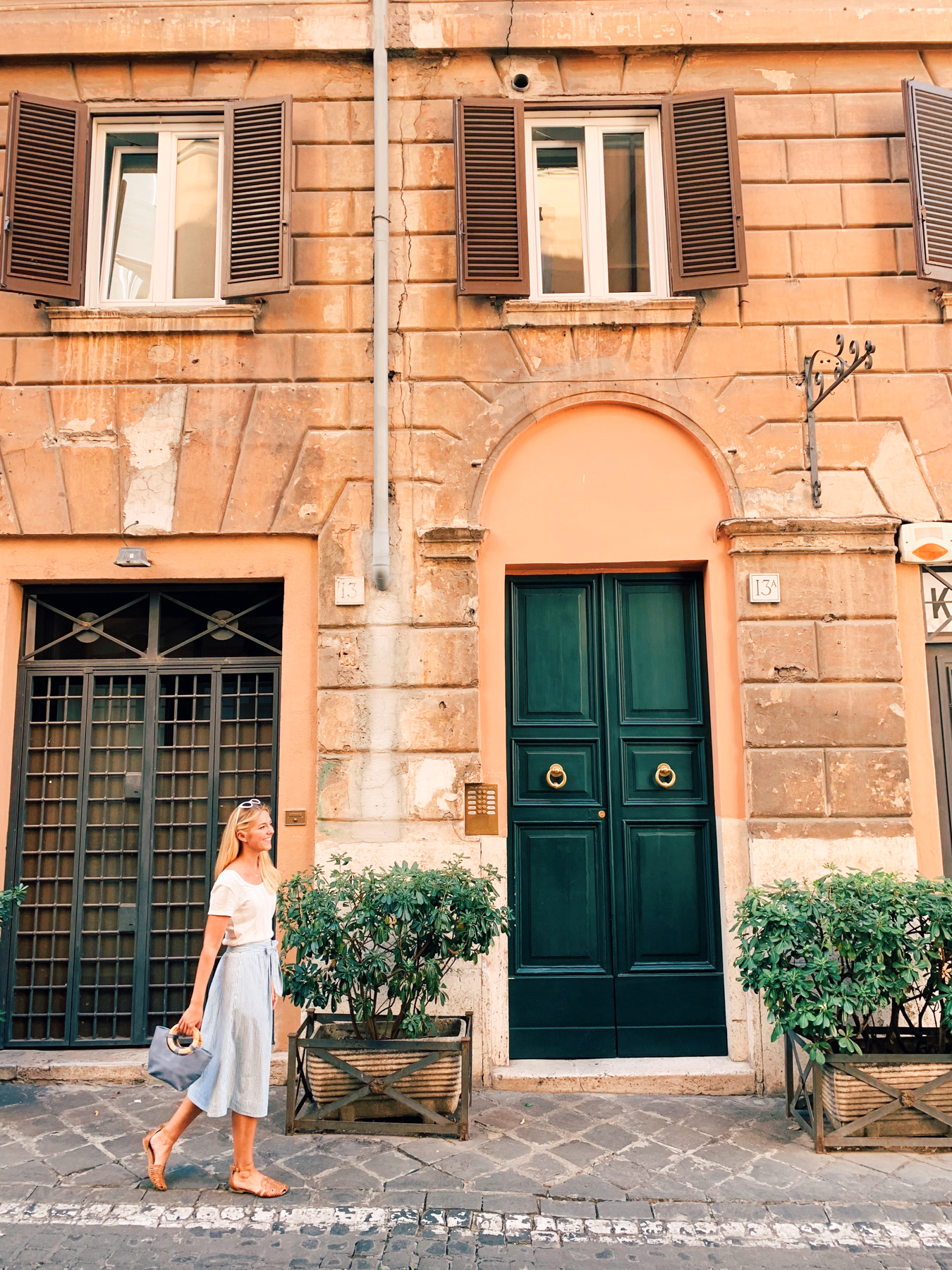 The doors in Rome enchanted me.