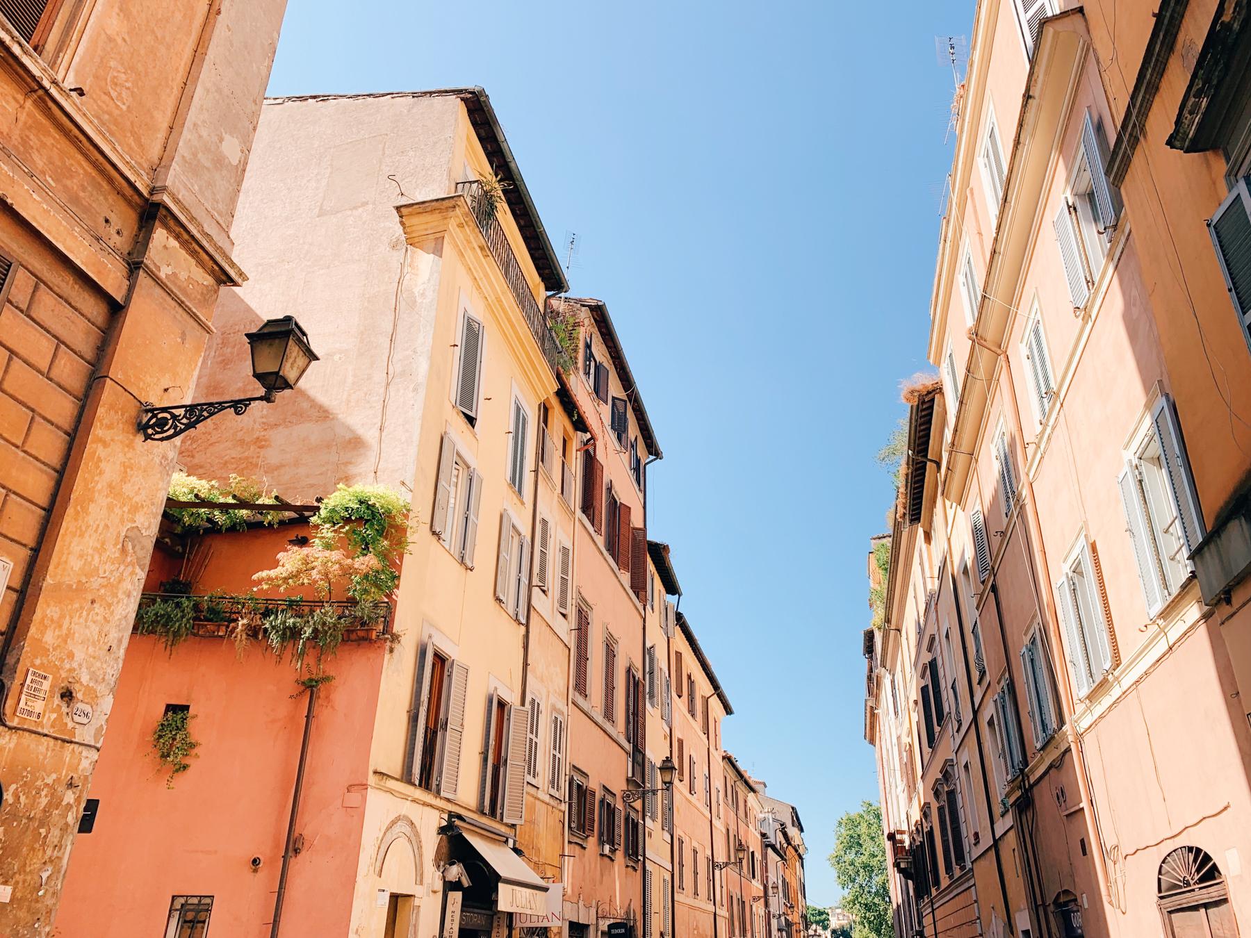 The beautiful sights around Piazza Navona.