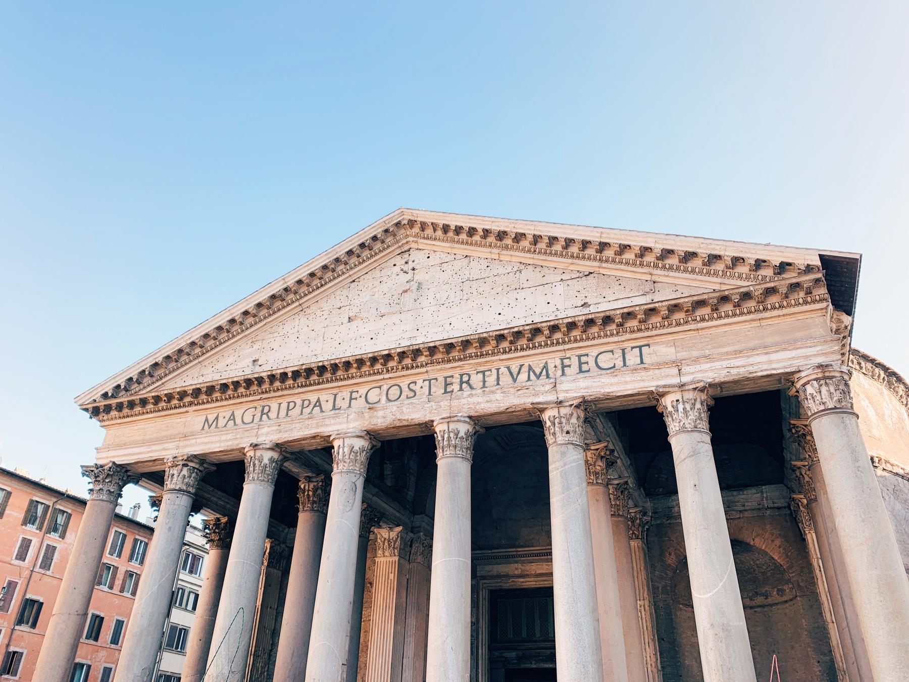 The Pantheon!