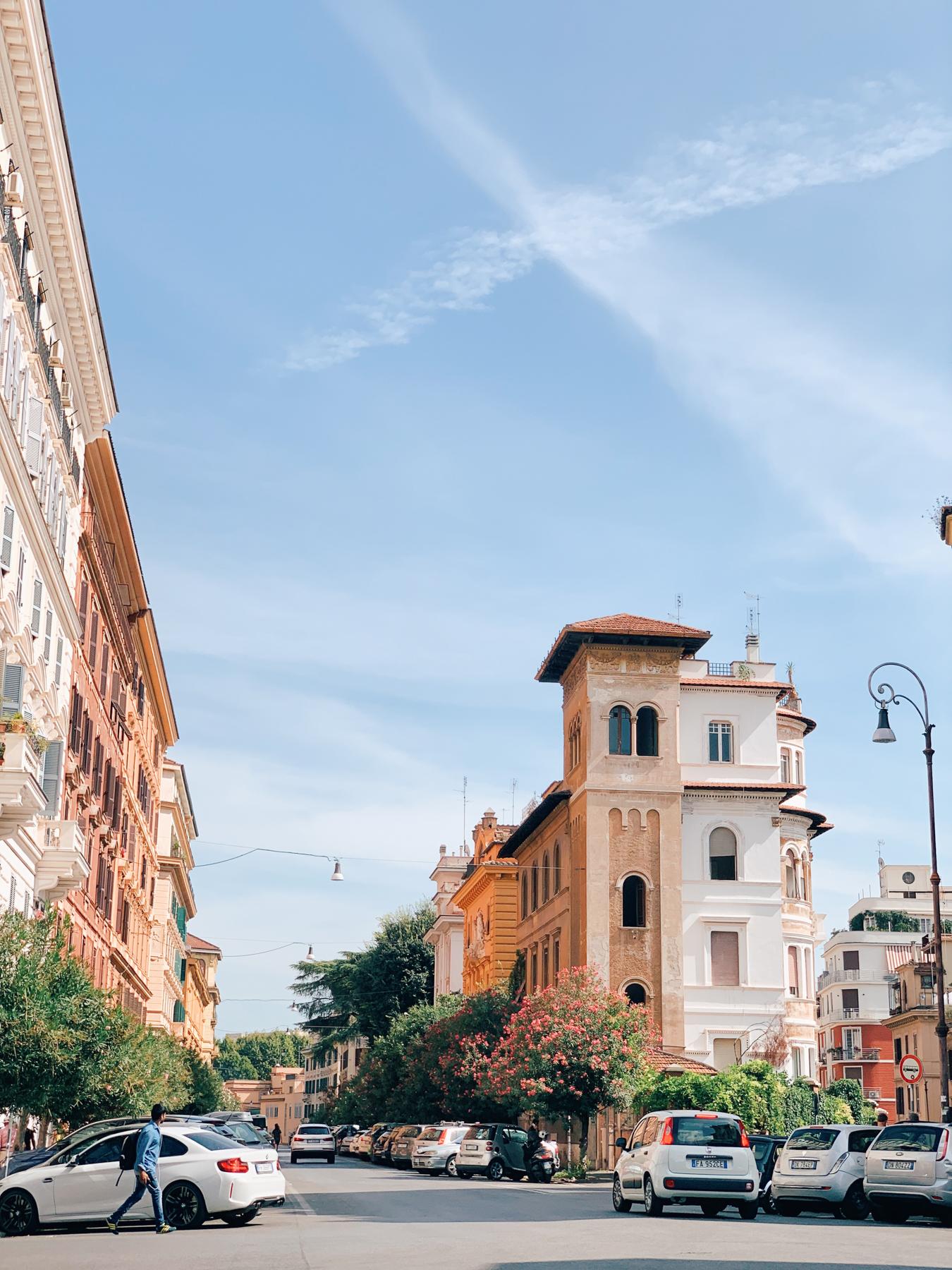 All the Roman neighborhoods were so sweet!