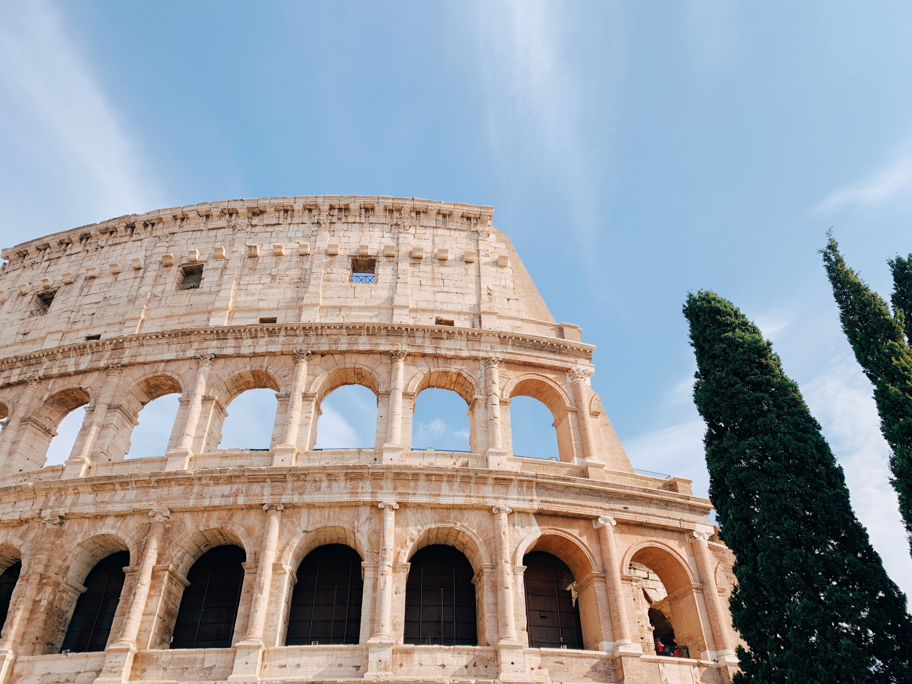 The Colosseum tour was one of my favorite things we did in Italy.