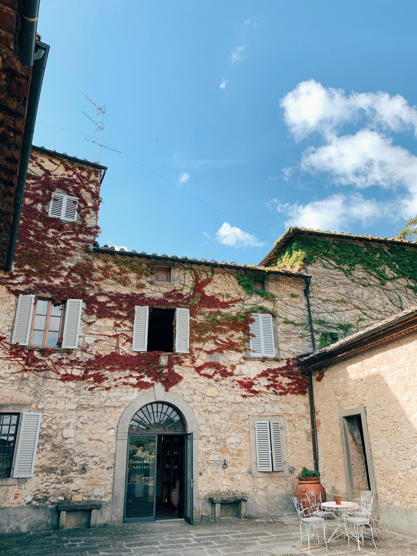 The gorgeous Castello di Ama.
